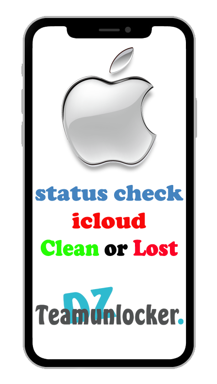 iCloud iPhone Clean Or Lost Check Service 1